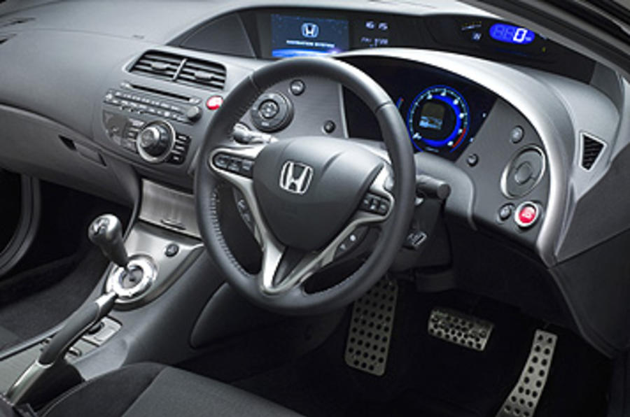 honda civic type s 1 4 first drive. Black Bedroom Furniture Sets. Home Design Ideas