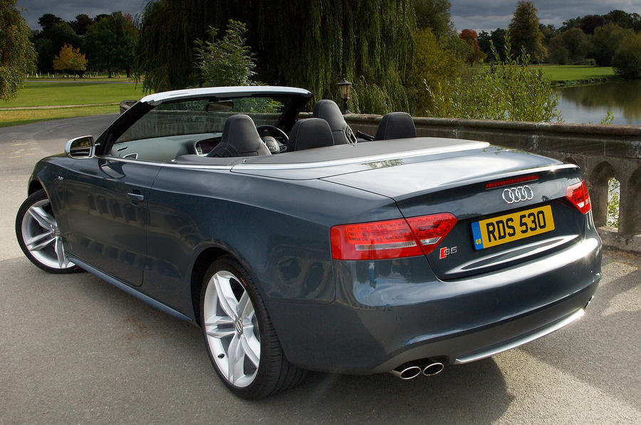 audi s5 cabriolet review review autocar. Black Bedroom Furniture Sets. Home Design Ideas