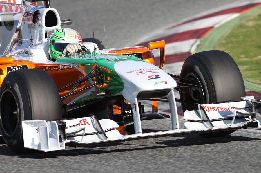 Hulkenburg tops latest F1 test