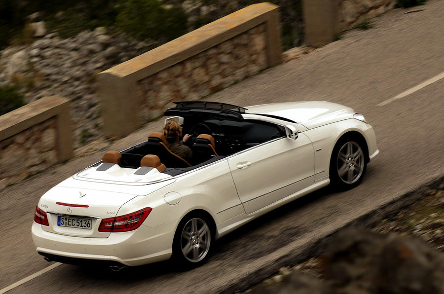 mercedes benz e 350 cgi cabriolet review autocar. Black Bedroom Furniture Sets. Home Design Ideas