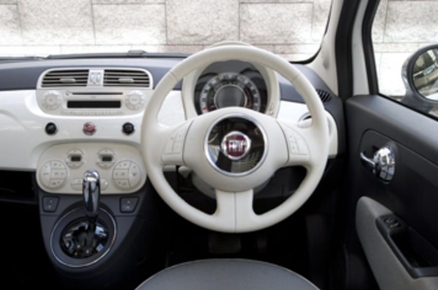 fiat 500 1 2 dualogic review autocar. Black Bedroom Furniture Sets. Home Design Ideas