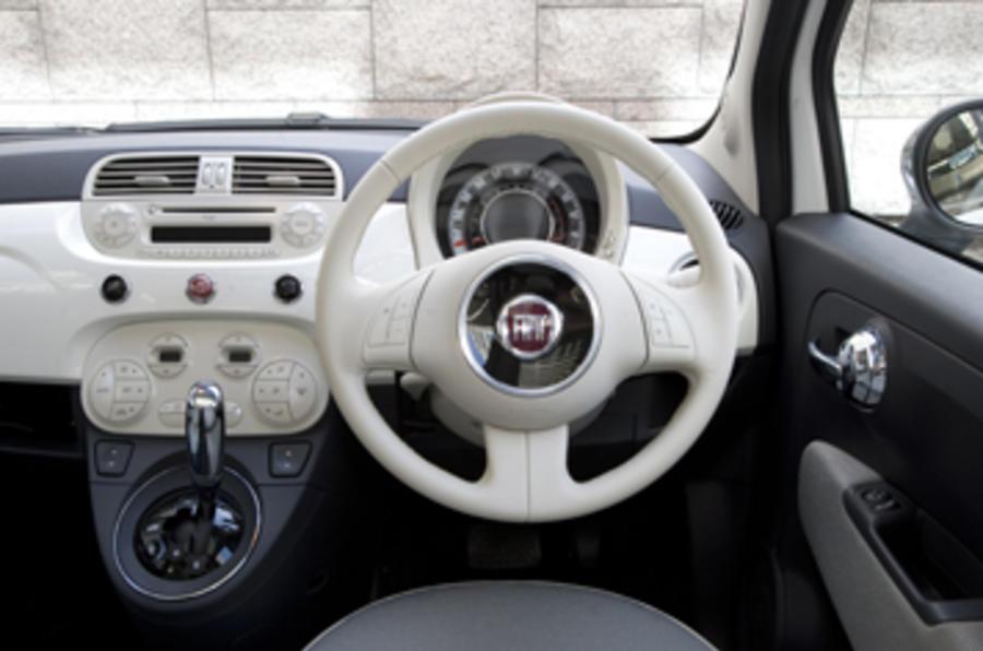 fiat 500 1 2 dualogic review autocar. Black Bedroom Furniture Sets. Home Design Ideas