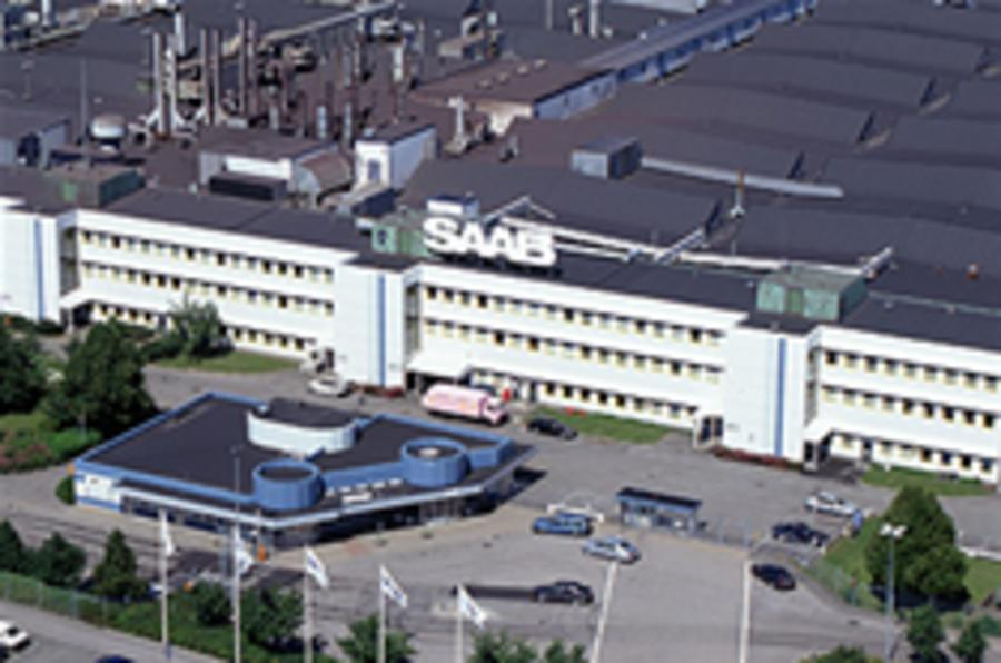 Production halted at Saab
