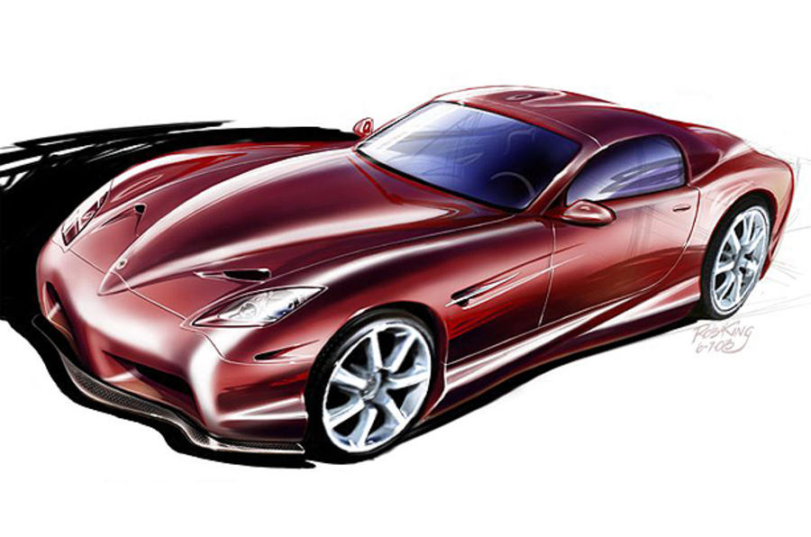 Panoz's new road car at Le Mans