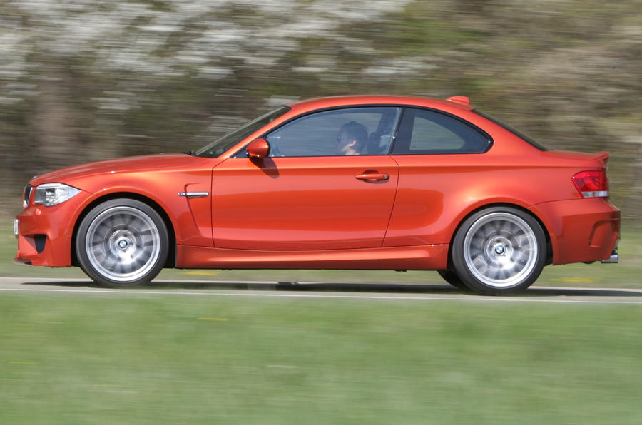 BMW 1 Series M Coupé side profile