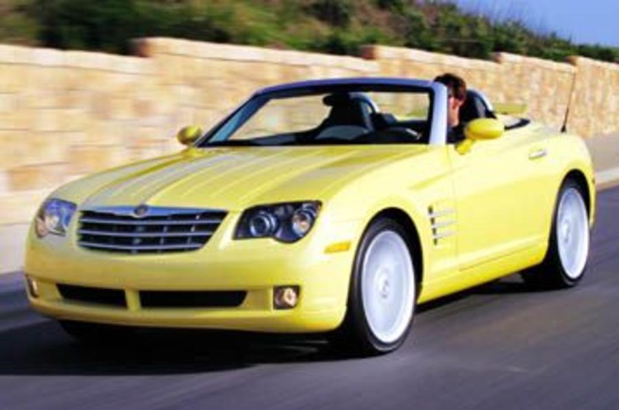 chrysler crossfire roadster review autocar. Black Bedroom Furniture Sets. Home Design Ideas