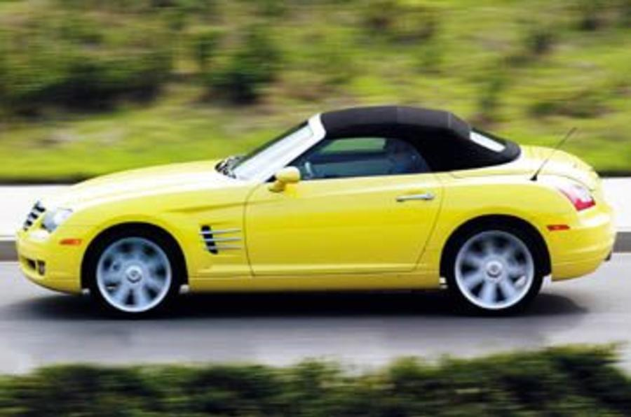 Chrysler Crossfire Roadster review | Autocar