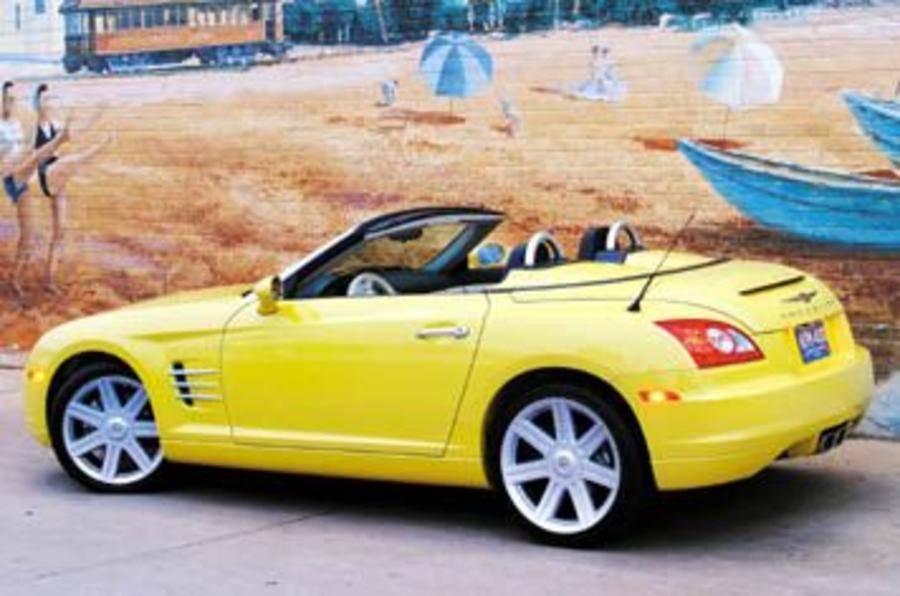 Chrysler crossfire roadster review autocar