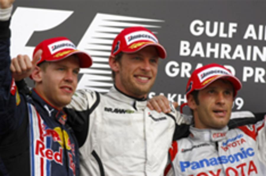 Button wins Bahrain GP
