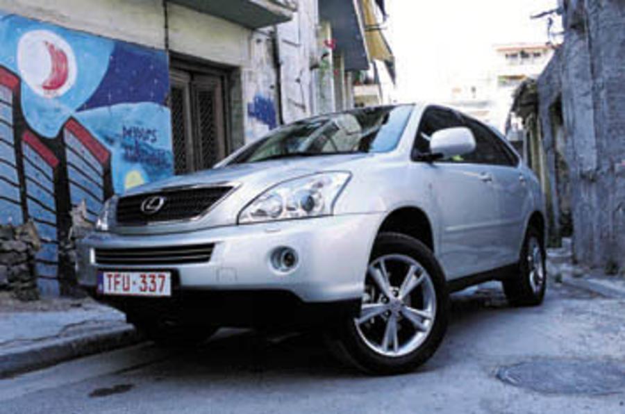 2009 lexus rx400h review
