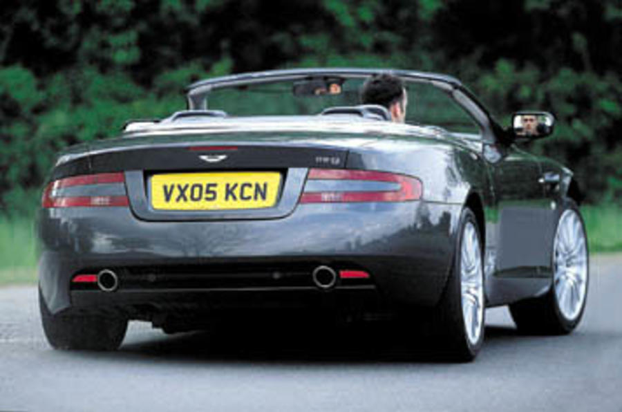 Aston Martin DB Volante Review Autocar - Aston martin db9 volante