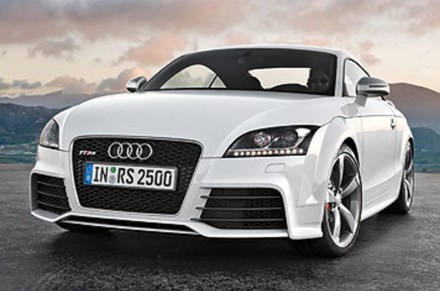 Audi TT RS 2.5 Coupe front end