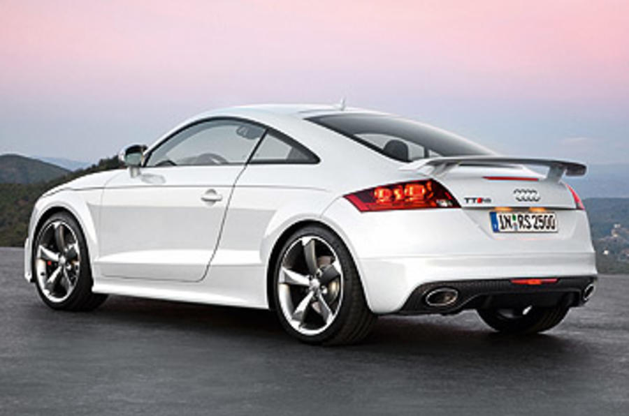 Audi TT RS 2.5 Coupe rear quarter
