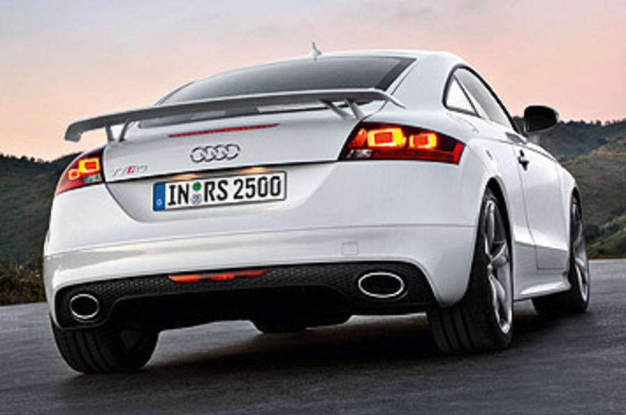 Audi TT RS 2.5 Coupe rear end