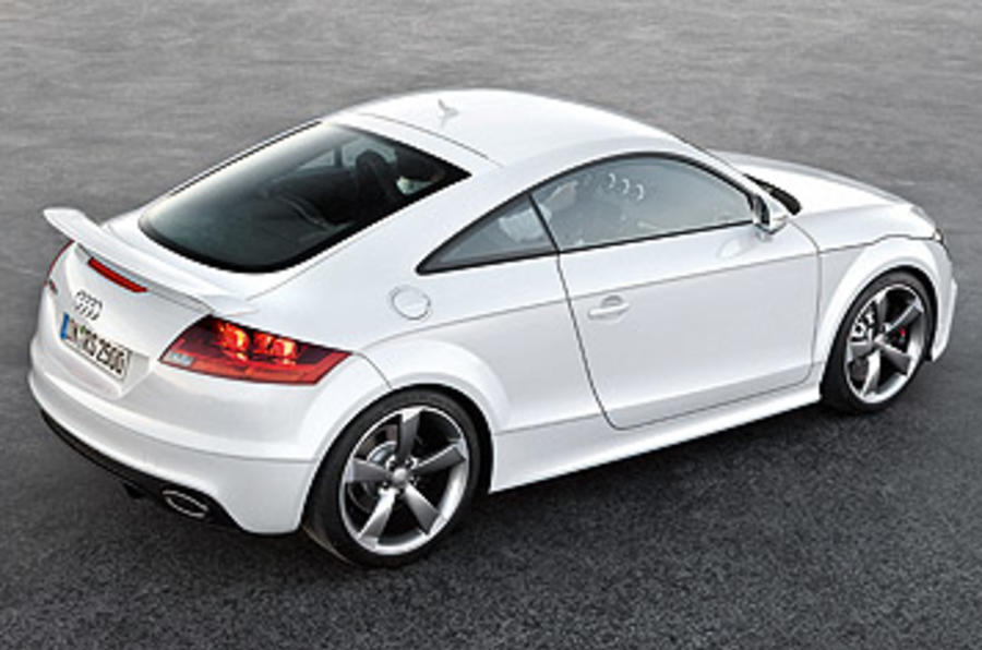 Audi TT RS 2.5 Coupe rear