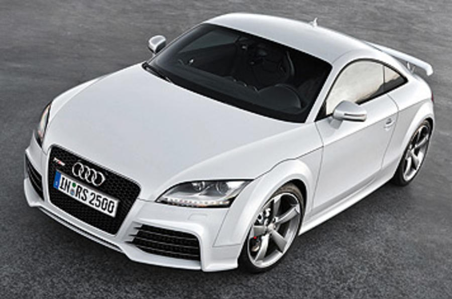 Audi TT RS 2.5 Coupe top profile