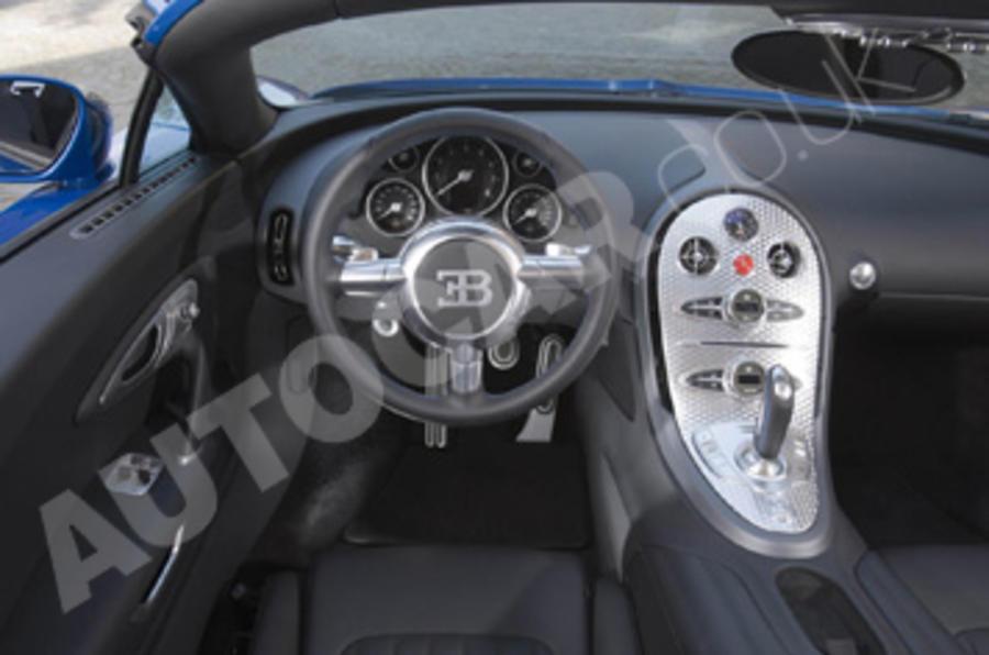 Bugatti Veyron 16.4 Grand Sport dashboard