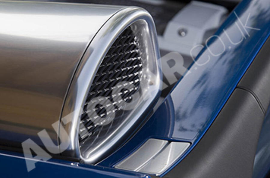 Bugatti Veyron air intake