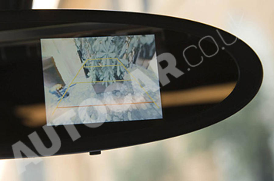 Bugatti Veyron 16.4 Grand Sport reversing camera
