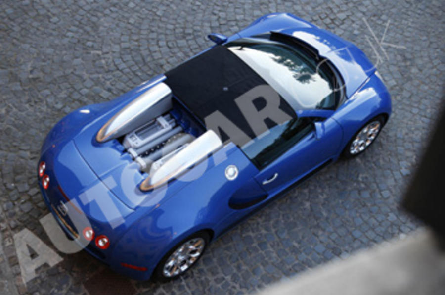 Bugatti Veyron top profile