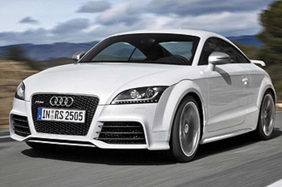 audi tt rs 2 5 coupe review autocar. Black Bedroom Furniture Sets. Home Design Ideas