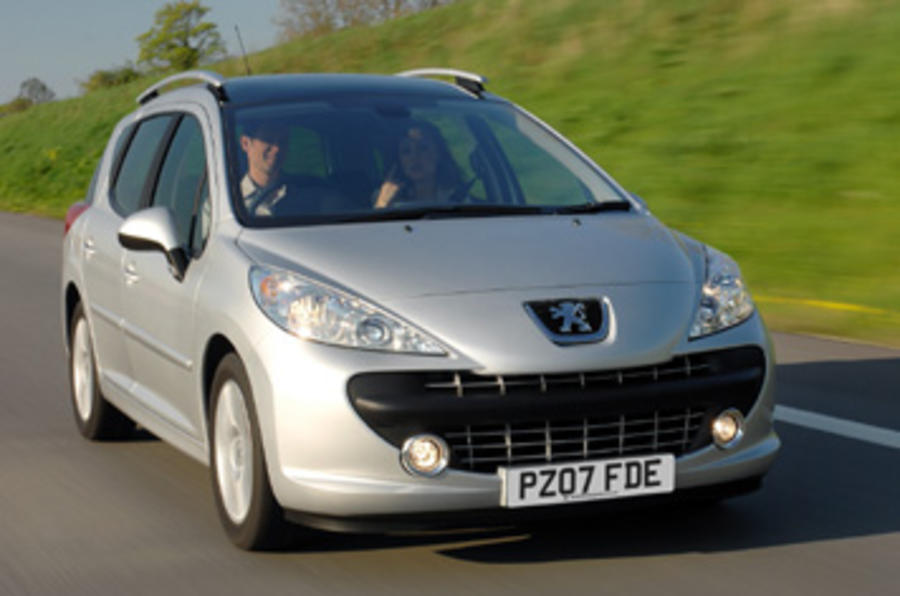 peugeot 207 sw 1 6 vti review autocar. Black Bedroom Furniture Sets. Home Design Ideas