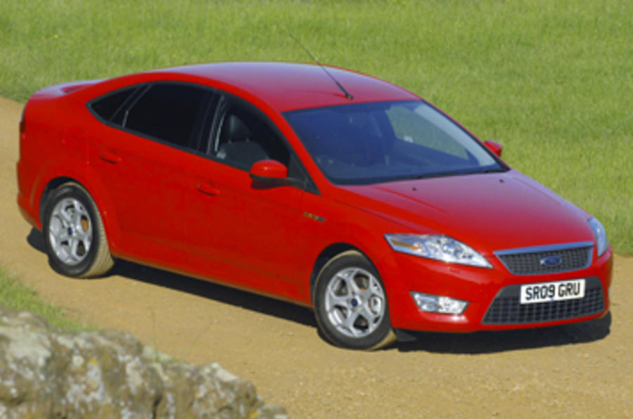 Ford Mondeo 2.0 Econetic front quarter
