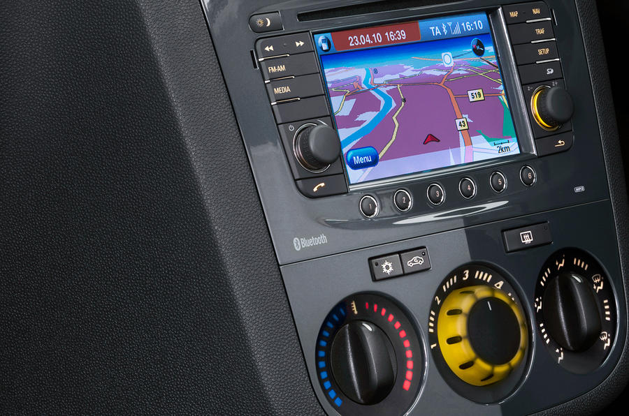 Vauxhall Corsa centre console