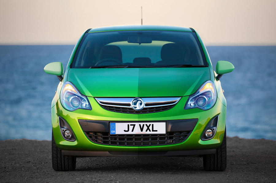 Vauxhall Corsa front end