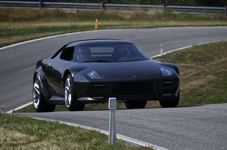 The 168mph Lancia Stratos Concept