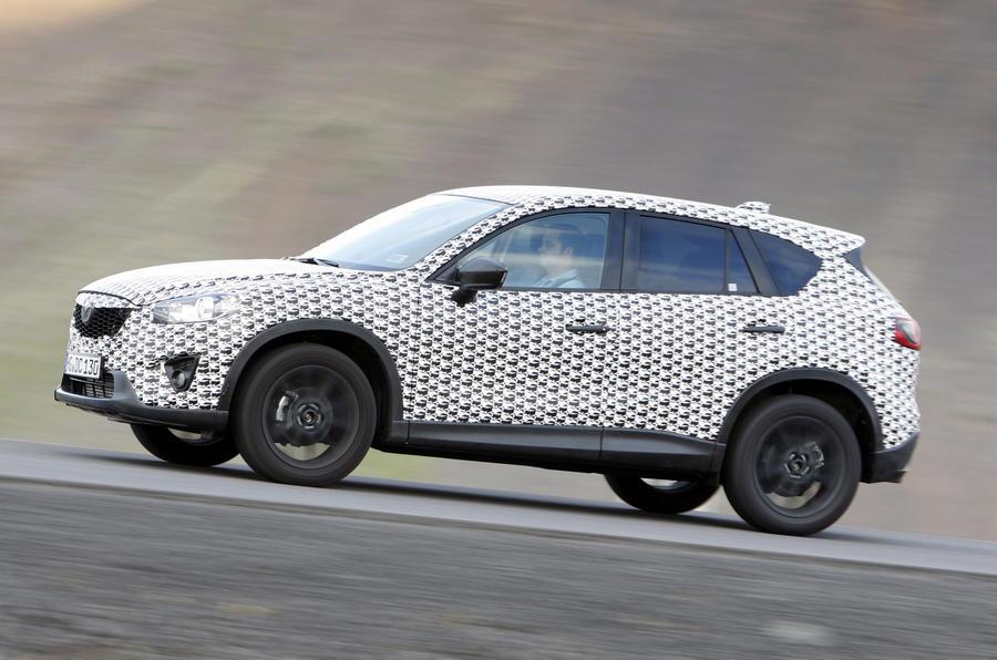 Mazda CX-5 side profile