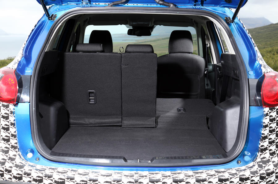 Mazda CX-5 boot space