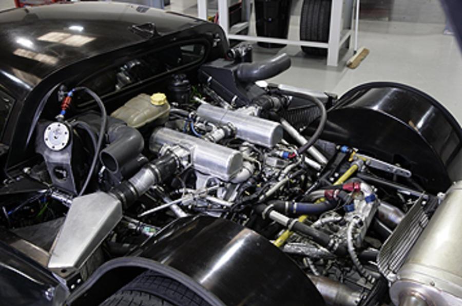 Noble M600 engine bay