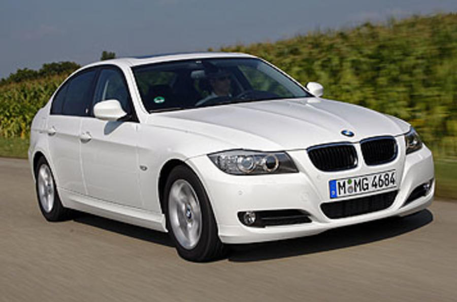 BMW 320d Efficient Dynamics on the road