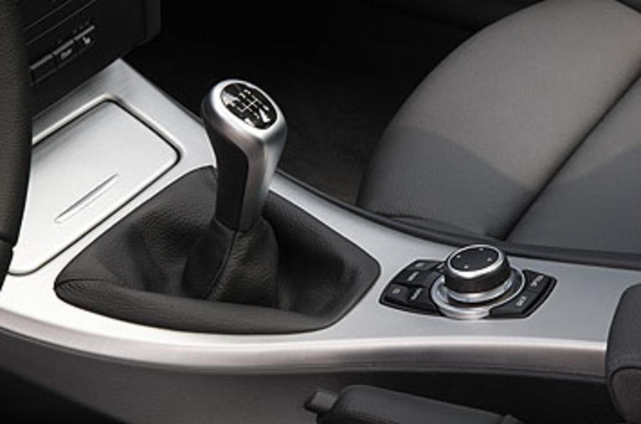BMW 320d manual gearbox