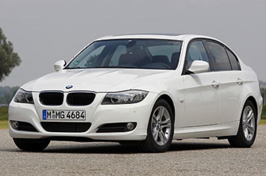 BMW 320d front quarter