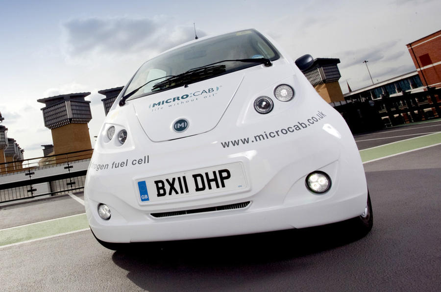 Coventry's hydrogen car revealed