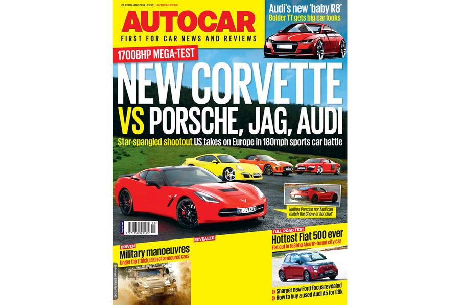Autocar magazine 26 February preview