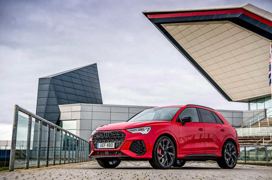 Audi RS Q3 2020 road test review - static front