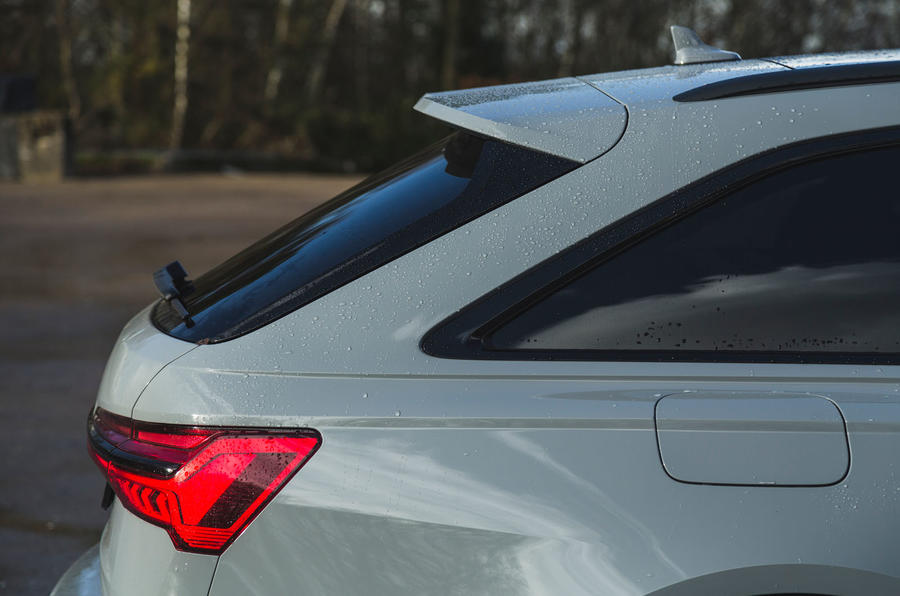 Audi RS6 Avant 2020 road test review - rear hatch