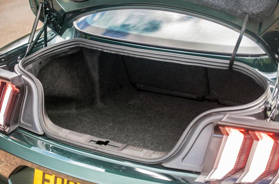 Ford Mustang Bullitt 2018 road test review - boot