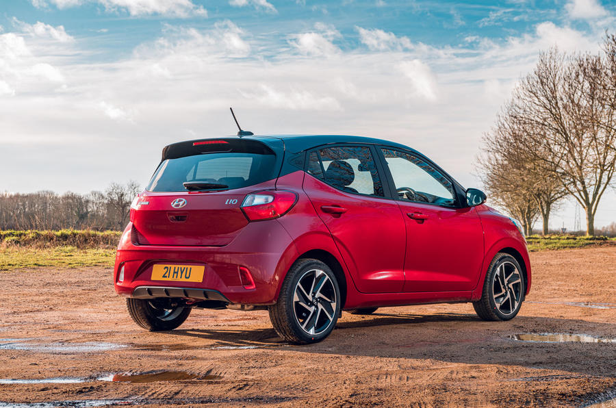 Hyundai i10 2020 road test review - static rear