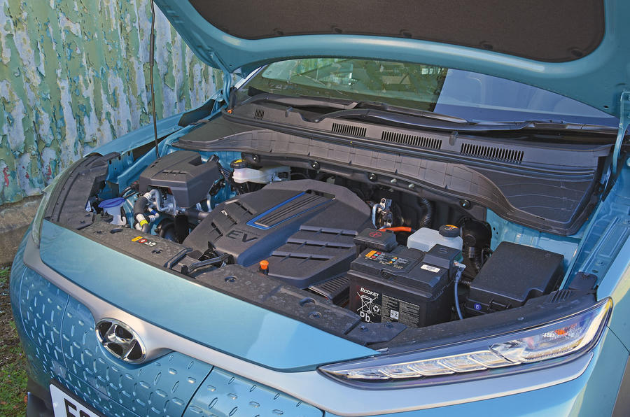 Hyundai Kona Electric 2018 road test review - engine