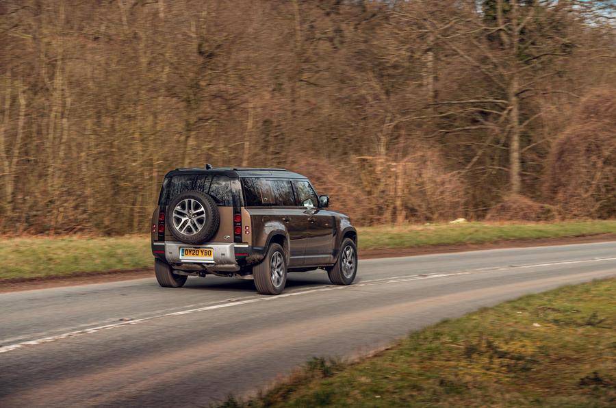 Land Rover Defender 2020 : examen de l'essai routier - sur la route du retour