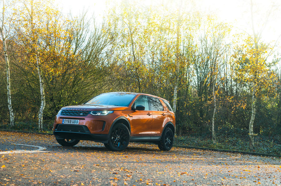 Land Rover Discovery Sport 2020 road test review - static