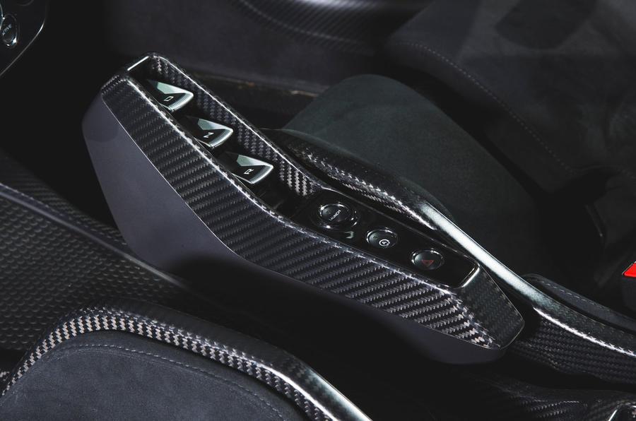 McLaren Senna 2018 road test review - drive select