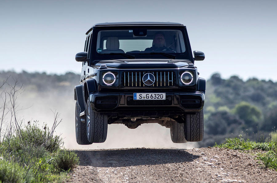 Mercedes-AMG G63 2018 review jump