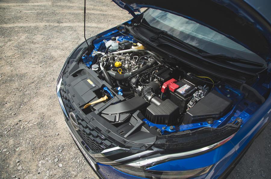 27 Nissan Qashqai 2021 RT moteur