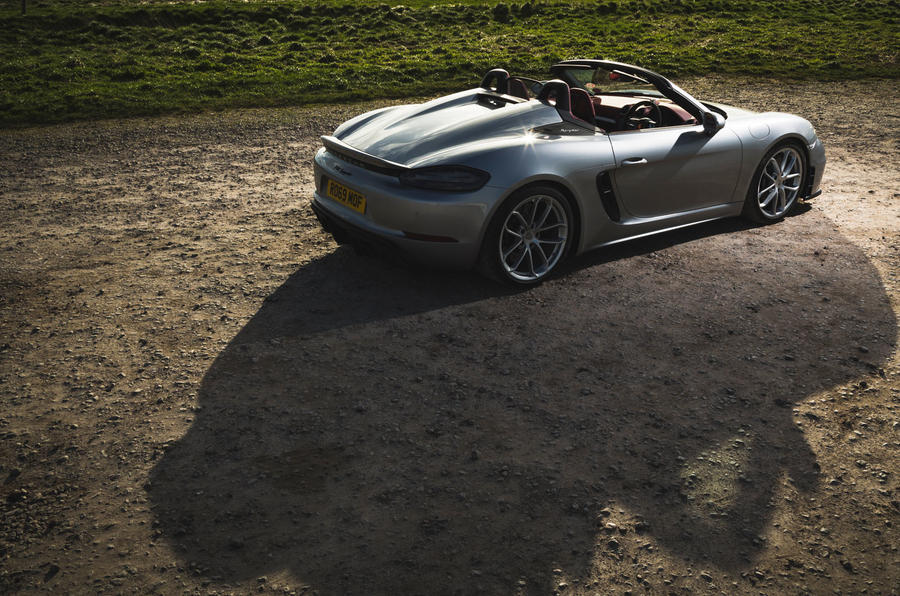 Porsche 718 Spyder 2020 road test review - static