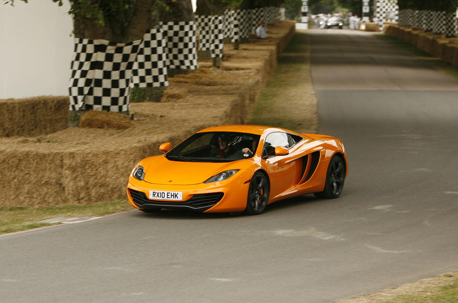 Goodwood: McLaren MP4 launched